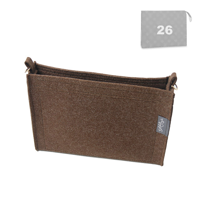Felt Insert Organizer for L V Escale Toiletry 26 Pouch w// D-rings